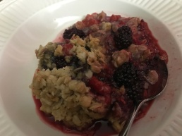 Blackberry Raspberry Crumble